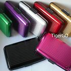 ALUMINIUM CARD HOLDER       SECURITY BUSINESS VISITING CREDIT WALLET       1PC