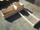 WOODEN TIMBER RAISED PLANTER BED GROW YOUR OWN VEGETABLES & PLANTS