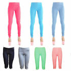Fashion Womens Ladies Causal Denim Jeggings Leggings UK 8-16 blue pink black