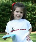 """CUTE!! Youth """"I Drive Without A License"""" Disc Golf T-shirt Tee Shirt Kid Child"""