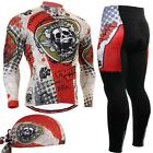 FIXGEAR CS-501-SET Cycling Jersey & Tights padded pants Road bike shirt Bicycle