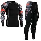 FIXGEAR CPD-SET-B30 Skin Compression Under Training Base layer shirt & tights