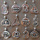 ZODIAC SIGNS pvc cord Horoscope Astrology Constellation Stars Space Magic Amulet