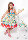 Jelly The Pug Ellie Group Multi-color Abbey Girl Dress Size 3T, 4, 5, 6 NWT