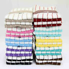 PACK OF 4 MICROFIBRE TEA TOWELS MULTI-PURPOSE  HIGHLY SOFT AND ABSORBENT