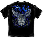 Law Enforcement Police Officer Tshirt Serve And Protect PD Badge Cop T shirt