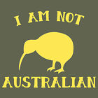 I AM NOT AUSTRALIAN funny Kiwi New Zealand pride T Shirt Sweet As Bro!