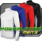 Herren Shirt Unterhemd Powerlayer Kompression Langärmel Armour Top Under Skins