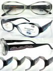 L350 Womens Vintage Tortoiseshell Reading Glasses Spring Hinges Super Value +150