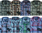 Mens Casual Summer Short Sleeve Check Checked 100% Cotton Shirt By Tom Hagan