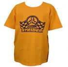 Official Strider Youth T-shirt for your Strider Rider! Gold/Yellow. Short Sleeve
