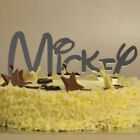 ANY NAME Personalised Disney Style Font - Birthday Cake Topper in Mirror Acrylic