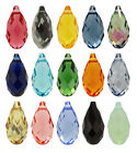 SWAROVSKI ELEMENTS 6010 Briolette Pendant - Many Sizes & Colours