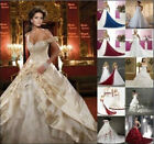 New Stock Wedding Dress Bridal Gown Size:6/8/10/12/14/16/18