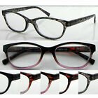 L377 Superb Quality Women Reading glasses & Spring Hinges & Vintage Style Design