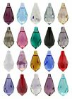 SWAROVSKI ELEMENTS 6000 Teardrop Pendant - Many Sizes & Colours