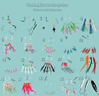 Mackerel / Cod Feathers,Lures,  Assorted Sea Fishing Boat and Pier Rigs.