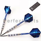 BLUEBIRD TUNGSTEN DARTS SET, UNICORN STEMS + FLIGHTS + CASE,  21-30 gram