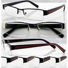 L415 Semi-Rimless Metal Reading Glasses+0.5+50+75+1.0+100+1.50+200+2.25+225+2.75