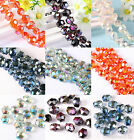 10/50pcs Faceted Crystal Glass Hexagon Spacer Bead 12x14mm Jewelry Finding Charm