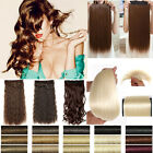 Heat Resistant one piece long curly wavy Clip in hair extension ladies favored