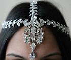 HAIR CHAIN HEAD PIECE MATHA PATTI *BRIDAL/WEDDING/PARTY/PROM**SILVER OR GOLD*