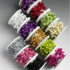 OASIS PEARLS ON A REEL 4/6mm - FLORISTRY OR CRAFTS - MANY COLOURS!