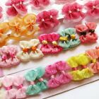 Lots Cat Puppy Dog Grooming Hair Bows Clips Headdress Yorkie Poodle Accessories