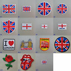 United Kingdom / England / London Iron On / Sew On Cloth Patch Badge Appliqué