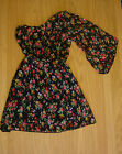 Ladies/ Girls Boho Floral Off Shoulder Gypsy Type Dress Sizes 8-14