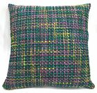 Qe103a Green Pink Purple Cotton Blend Sofa Cushion Cover/Pillow Case*Custom Size