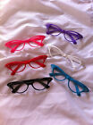 1950'S GLASSES PINK LADY,DAME EDNA SPECS FANCY DRESS ACCESSORY