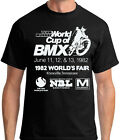 Old School BMX T-shirt Team Murray World's Fair vintage X20 X24 sticker bicycle