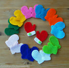 Felt Die Cuts - Mittens/Gloves - Kids - Applique - Christmas/Invitations/Cards
