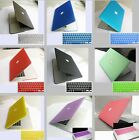 """Rubberized Matte Case Shell For Macbook Pro 15""""inch Retina A1398 +Keyboard Cover"""