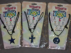 Adjustable Rope Mood Necklace Star Cross Smilely Face Pendant NEW!
