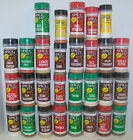 SPICE IT! Seasoning Spices. Over 70 Flavors to choose From. Self-Select!   (M-Z)