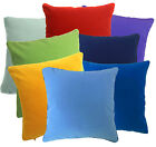 Mb+8 Plain Color Soft Flat Velvet Style Cushion Cover/Pillow Case Custom Size