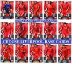 MATCH ATTAX 13 14 Choose Your LIVERPOOL Individual Base Cards 2013 2014