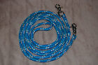 YACHT ROPE BLUE W/WHITE  RED TRACERS FINESSE REIN FOR PARELLI TRAINING METHOD