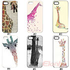 New Giraffe Design Hard Plastic Back Case Cover Skin For iPhone 5 5G 5S