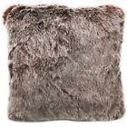 Fq865a Burgundy Thick Long Plush Faux Fur Cushion Cover/Pillow Case*Custom Size*