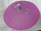 TRADITIONAL AUTHENTIC BAMBOO CHINESE JAPANESE GEISHA UMBRELLA PARASOL UK SELLER