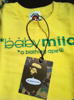 Bape Milo Top Cute Elephone Yellow Long Sleeve T-shirt Jumper
