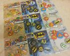 Choice of Superhero Badge Pack. Batman, Superman, Spiderman. Hulk, Marvel, DC