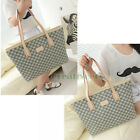 New Women's Leather Vintage Fashion Shoulder Messenger Casual Handbag Tote Bag