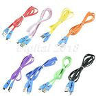 1x Smile Face 1M USB 2.0 Male A to Micro B 5-Pin Data Sync Cable