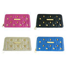 Anna Smith by LYDC Designer Ladies Padded Willow Studded Purse
