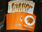 Hull City home programmes 1972/73 - 73/74