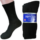 3 6 12 Pairs Mens Circulatory Diabetic Crew Socks Health Cotton 9-11 10-13 13-15